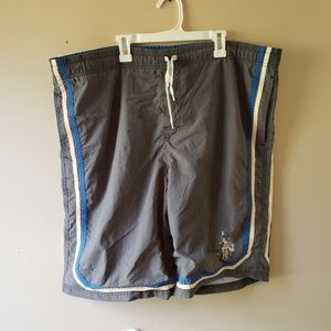 Mens US Polo Assn Swim Trunks